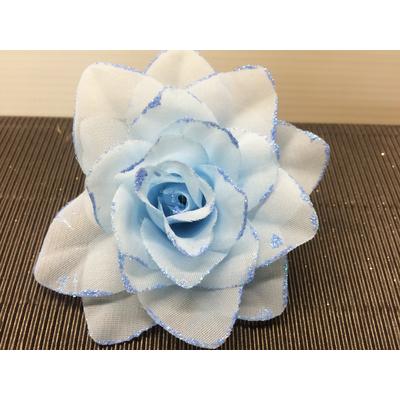 Chouchou rose bleue