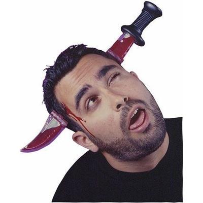 Couteau Transcrâne Avec Faux Sang