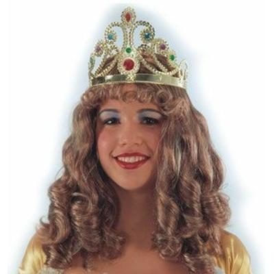 Perruque de Princesse Avec Diadème
