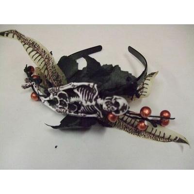 Serre Tête Halloween Squelette