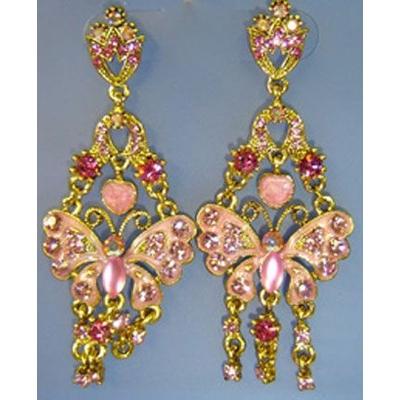 Boucles d'Oreilles Papillons