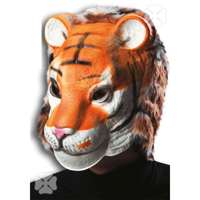 Masque de tigre en latex