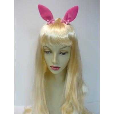 Pinces avec oreilles de lapin fuchsia