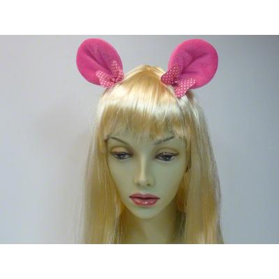 Pinces avec oreilles de Minnie fuchsia