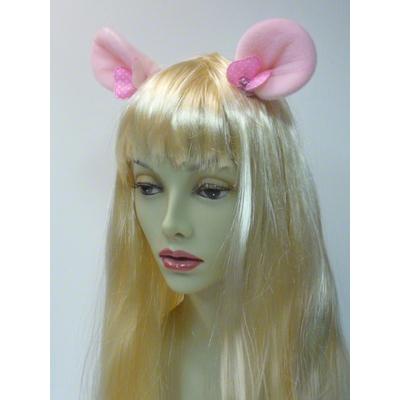 Pinces avec oreilles de Minnie roses