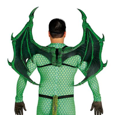 Ailes de dragon vertes