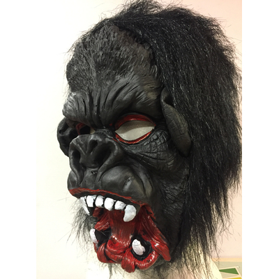 Masque de gorille en latex