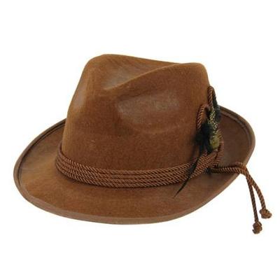 Chapeau tyrolien marron