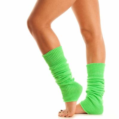 Jambières de danse vert fluo
