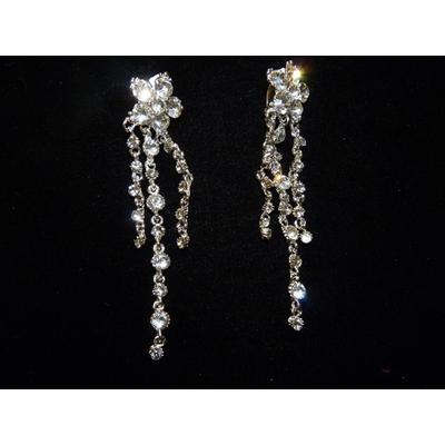 Boucles d'oreilles strass Crystal