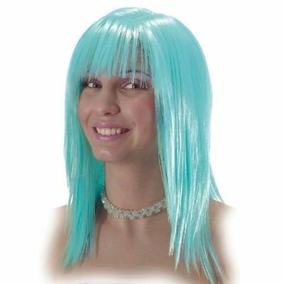 Perruque Disco Turquoise