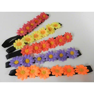 Bandeau hippie fleurs