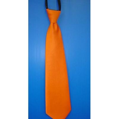 Cravate En Satin Orange