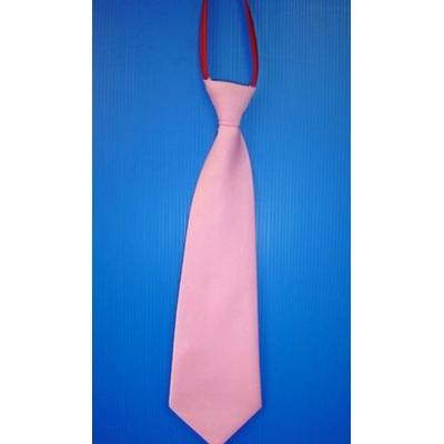 Cravate En Satin Rose