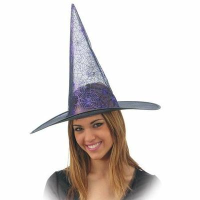 Chapeau de Sorcière Translucide