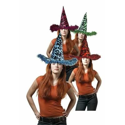 Chapeau Halloween Flammes