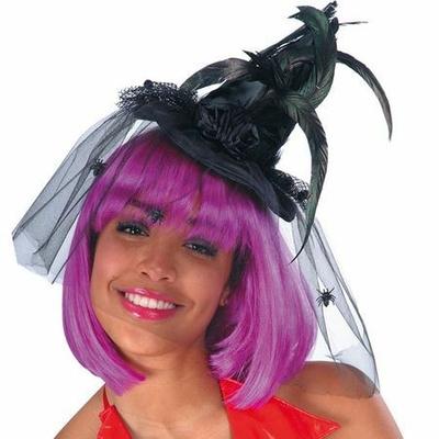 Mini Chapeau de Sorcière Noir