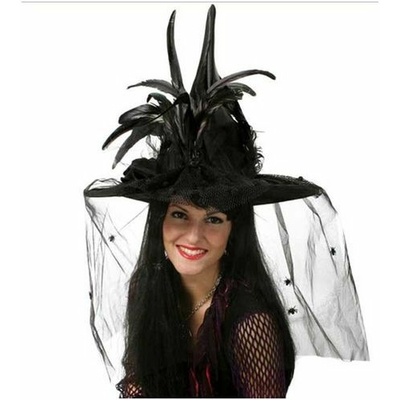 Chapeau de Sorcière Luxe Noir