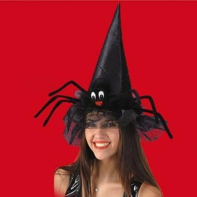Chapeau de Sorcière Araignée