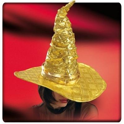 Chapeau de Sorcière Métallisé