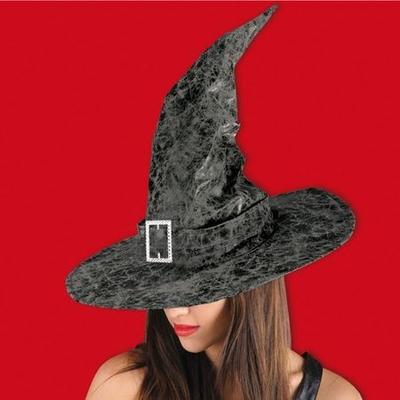 Chapeau de Sorcière ou de mage Imitation Cuir