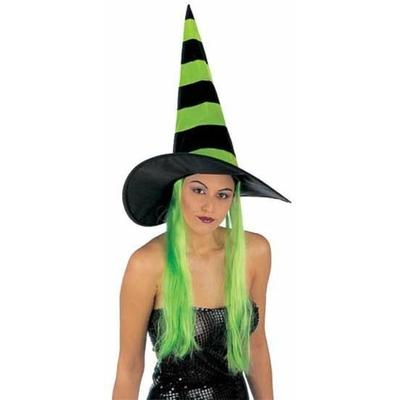 Chapeau Halloween Avec Cheveux