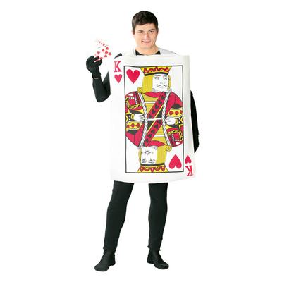 Déguisement carte à jouer adulte roi