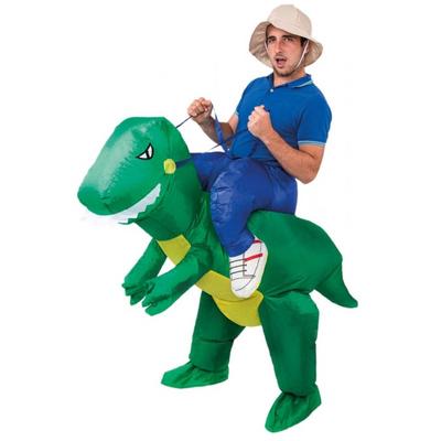 Déguisement gonflable Carry me Dinosaure