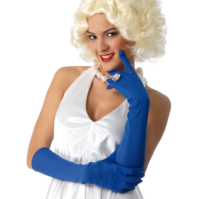 Gants bleus 45 cm