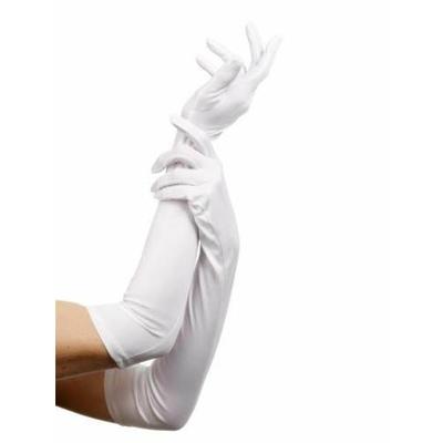 Gants Jersey 45 Cm Blancs