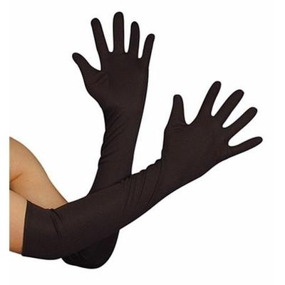 Gants Jersey 45 Cm Noirs