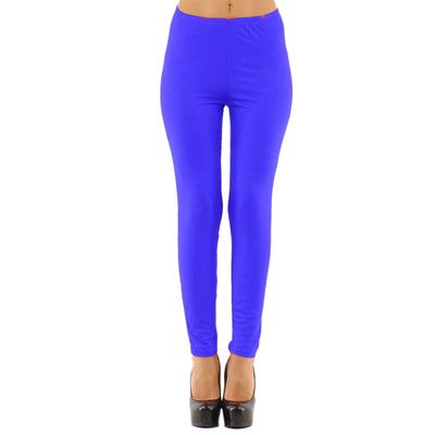 Legging lycra bleu