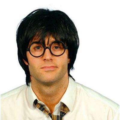 Perruque Harry avec lunettes