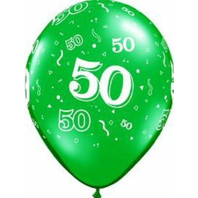 Ballons En Latex Chiffres 50