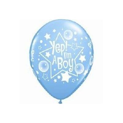 Ballons Bleus En Latex Imprimés It'S A Boy
