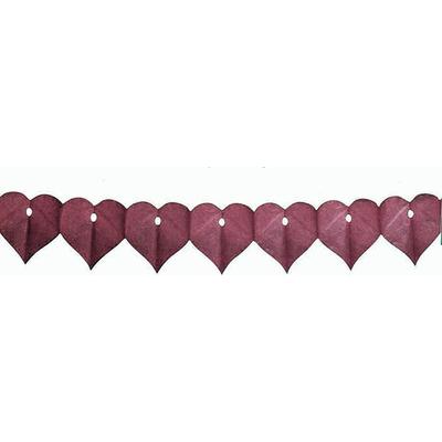 Guirlande Mariage Coeur Chocolat