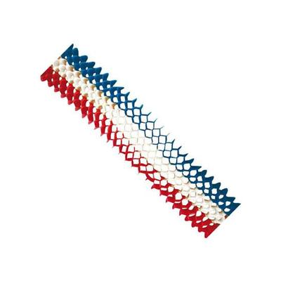 Guirlande zinnia tricolore France ou USA