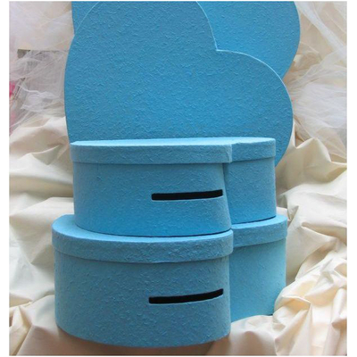 Urne coeur Turquoise 33 cm