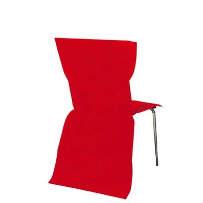 6 Housses de Chaise rouge