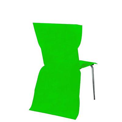 6 Housses de Chaise vert anis
