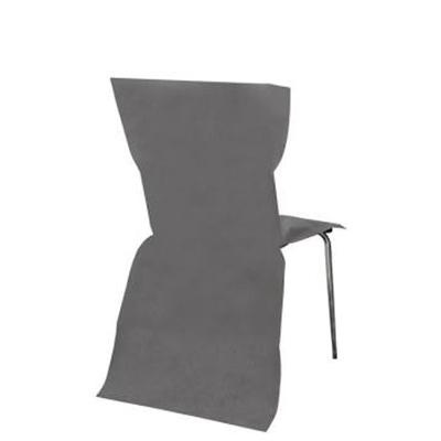 6 Housses de Chaise grise