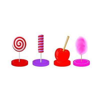 Marque-places thème sucreries