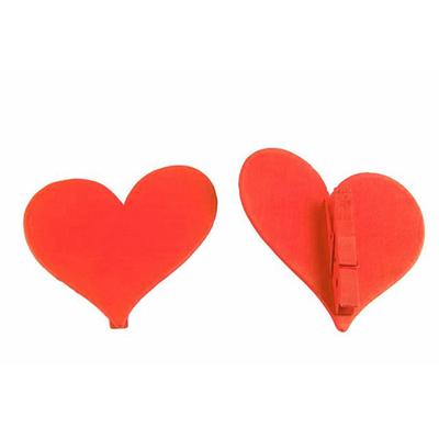 12 marques place coeurs bois oranges