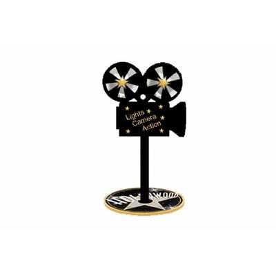 3 caméras décoration de table 20 cm