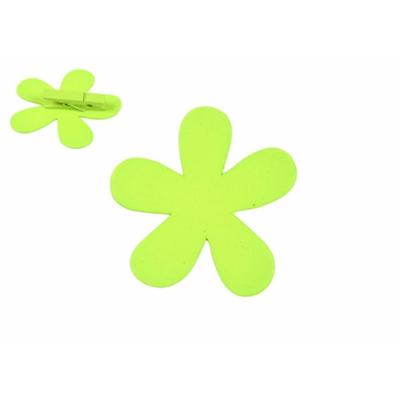 12 marques place fleurs vert anis en bois