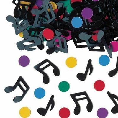 Confettis de Tables Notes de Musique