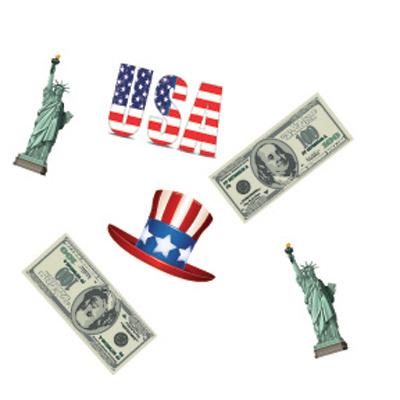 Confettis thème USA
