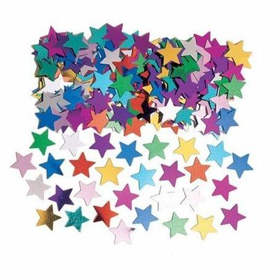 Confettis  de Tables Étoiles Multicolores