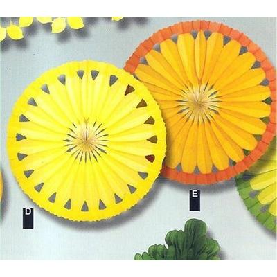 Rosaces Thème Agrumes citron et orange