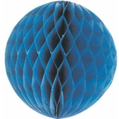 Boule Papier Alvéolé 40Cm Bleu Marine
